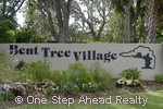 sign for Bent Tree Village